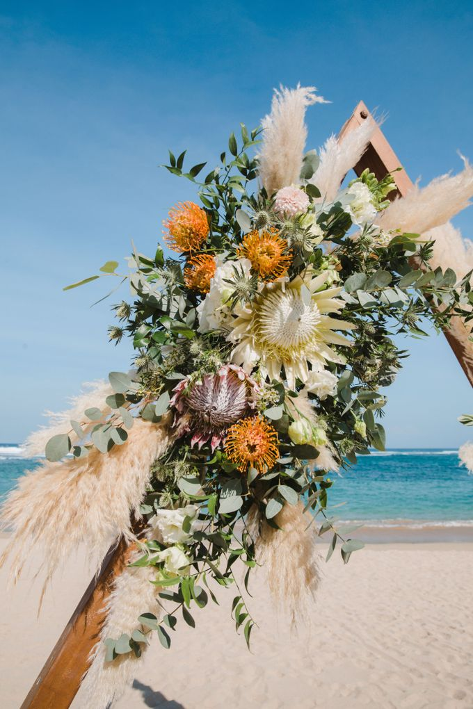 Summer - Modern Beach Wedding at Inaya Resort by Silverdust Decoration - 017