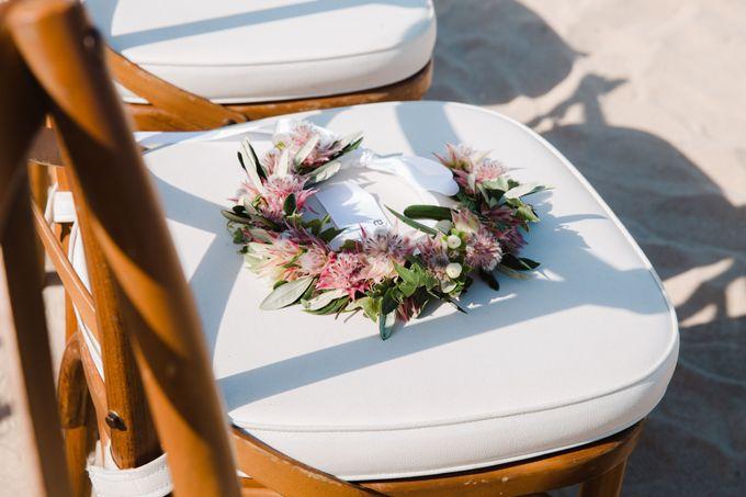 Summer - Modern Beach Wedding at Inaya Resort by Silverdust Decoration - 018