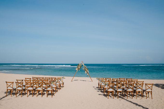 Summer - Modern Beach Wedding at Inaya Resort by Silverdust Decoration - 019