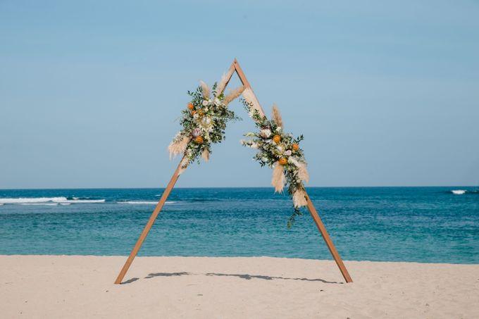Summer - Modern Beach Wedding at Inaya Resort by Silverdust Decoration - 001