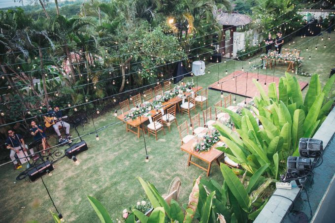 Sweet Rustic Wedding at New Kuta Golf & Villa Bayu Bali by Silverdust Decoration - 013