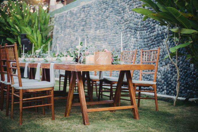 Sweet Rustic Wedding at New Kuta Golf & Villa Bayu Bali by Silverdust Decoration - 014