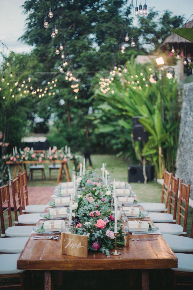 Sweet Rustic Wedding at New Kuta Golf & Villa Bayu Bali by Silverdust Decoration - 015