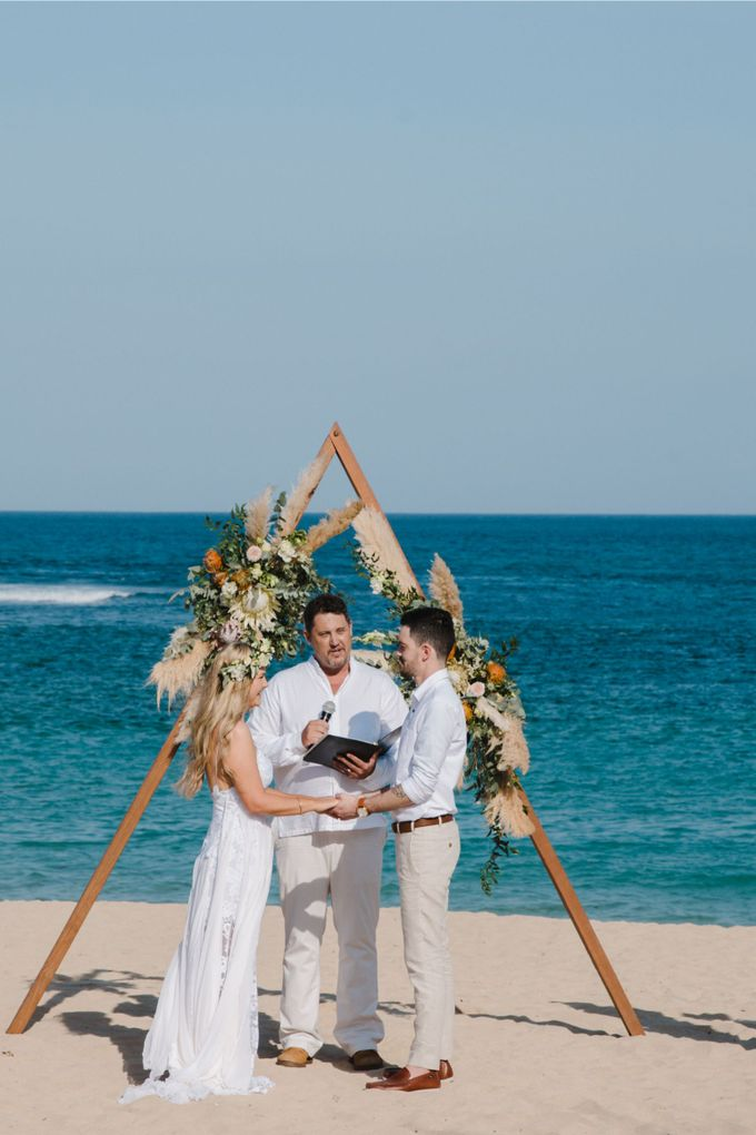 Summer - Modern Beach Wedding at Inaya Resort by Silverdust Decoration - 002