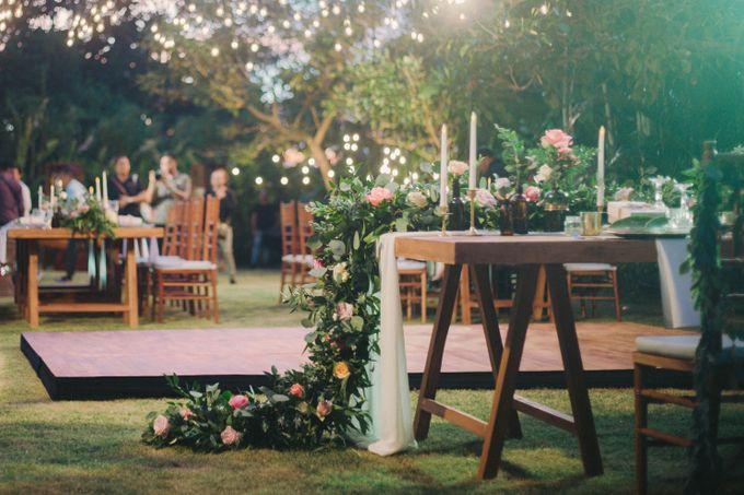 Sweet Rustic Wedding at New Kuta Golf & Villa Bayu Bali by Silverdust Decoration - 017
