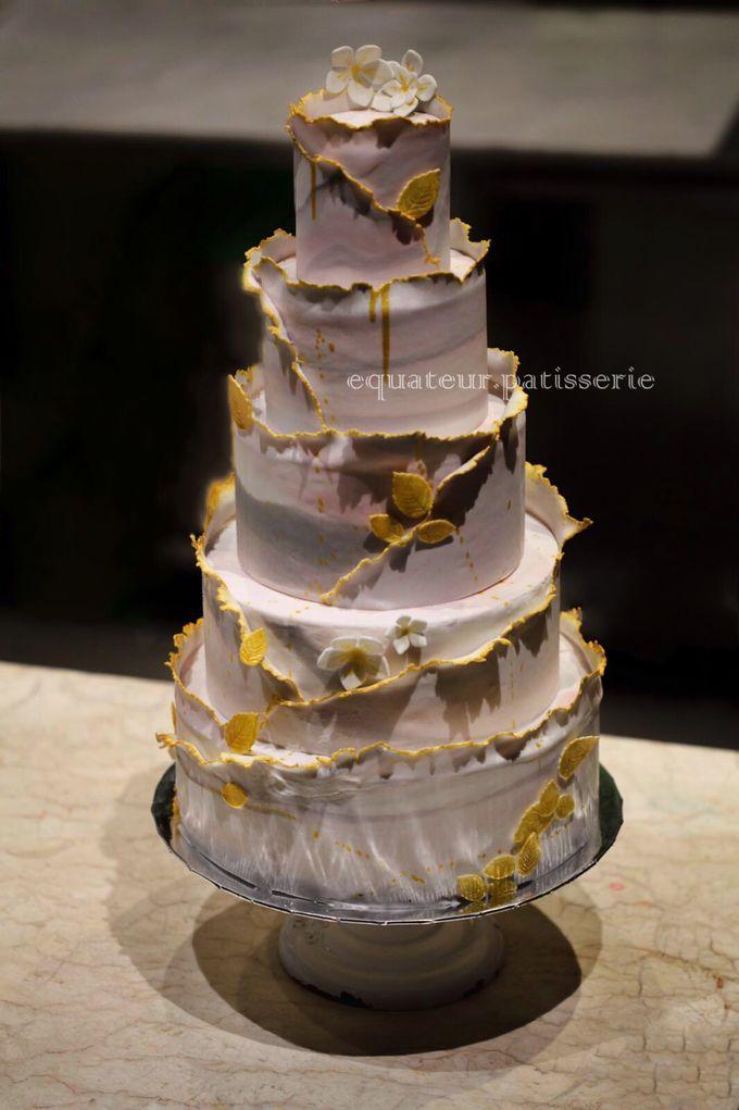 Wedding Cake by Équateur Patisserie - 007