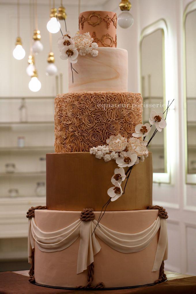 Wedding Cake by Équateur Patisserie - 008