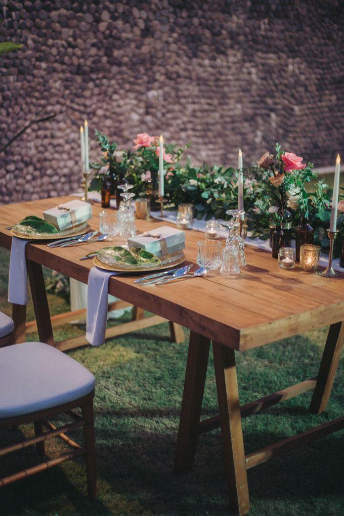 Sweet Rustic Wedding at New Kuta Golf & Villa Bayu Bali by Silverdust Decoration - 018