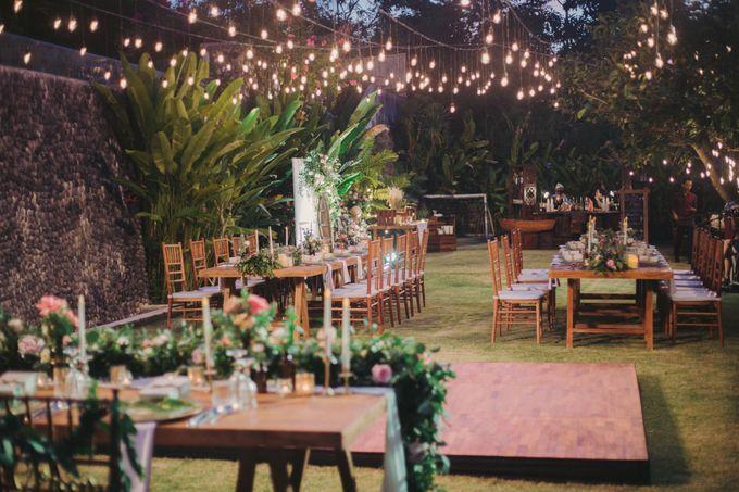 Sweet Rustic Wedding at New Kuta Golf & Villa Bayu Bali by Silverdust Decoration - 019