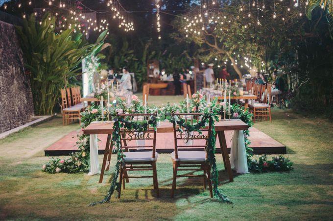Sweet Rustic Wedding at New Kuta Golf & Villa Bayu Bali by Silverdust Decoration - 020