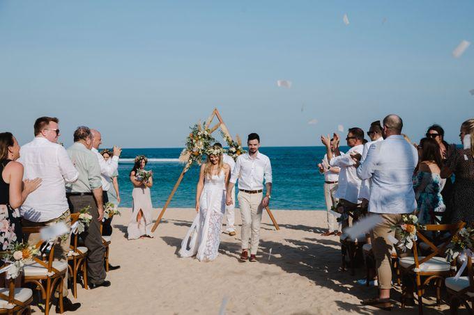 Summer - Modern Beach Wedding at Inaya Resort by Silverdust Decoration - 003