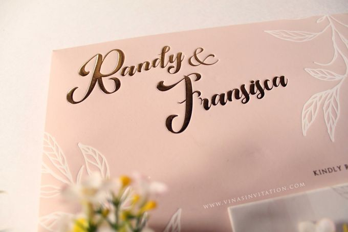 Randy & Fransisca by Vinas Invitation - 002