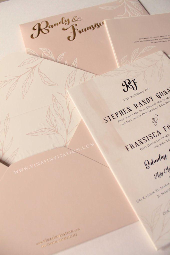 Randy & Fransisca by Vinas Invitation - 003