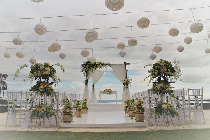 Water Wedding Decoration by Jc Florist Bali - 001