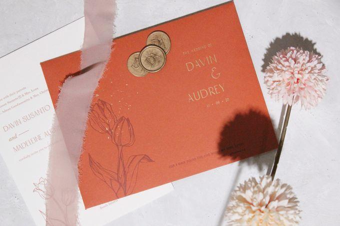 Davin & Audrey Invitation Suite by Sho Paper - 001