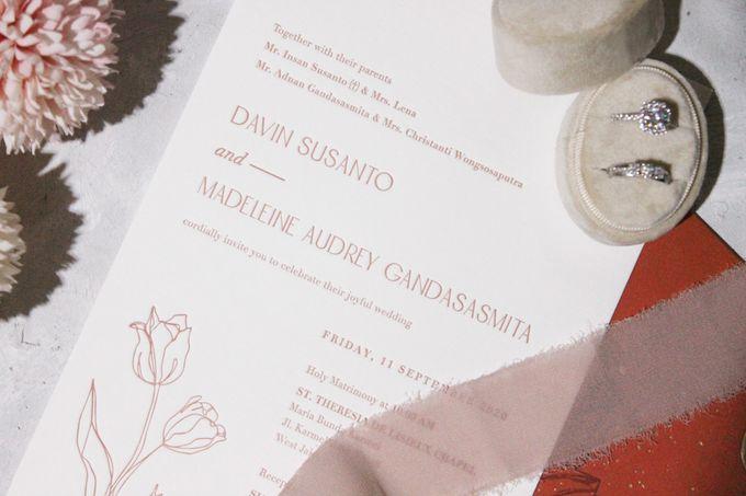 Davin & Audrey Invitation Suite by Sho Paper - 002