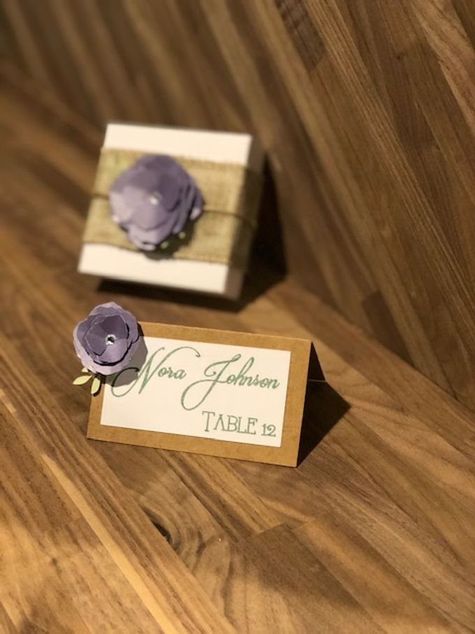 Wedding Place Cards by paper & string - 007