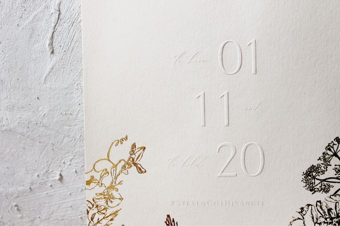 Steven & Angelin Invitation Suite by Sho Paper - 007