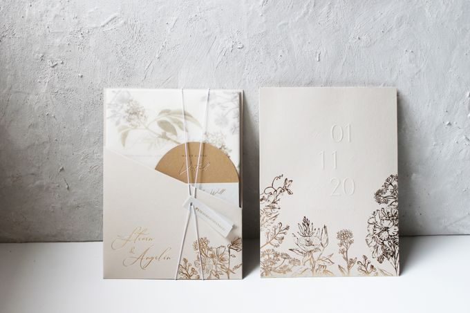 Steven & Angelin Invitation Suite by Sho Paper - 001