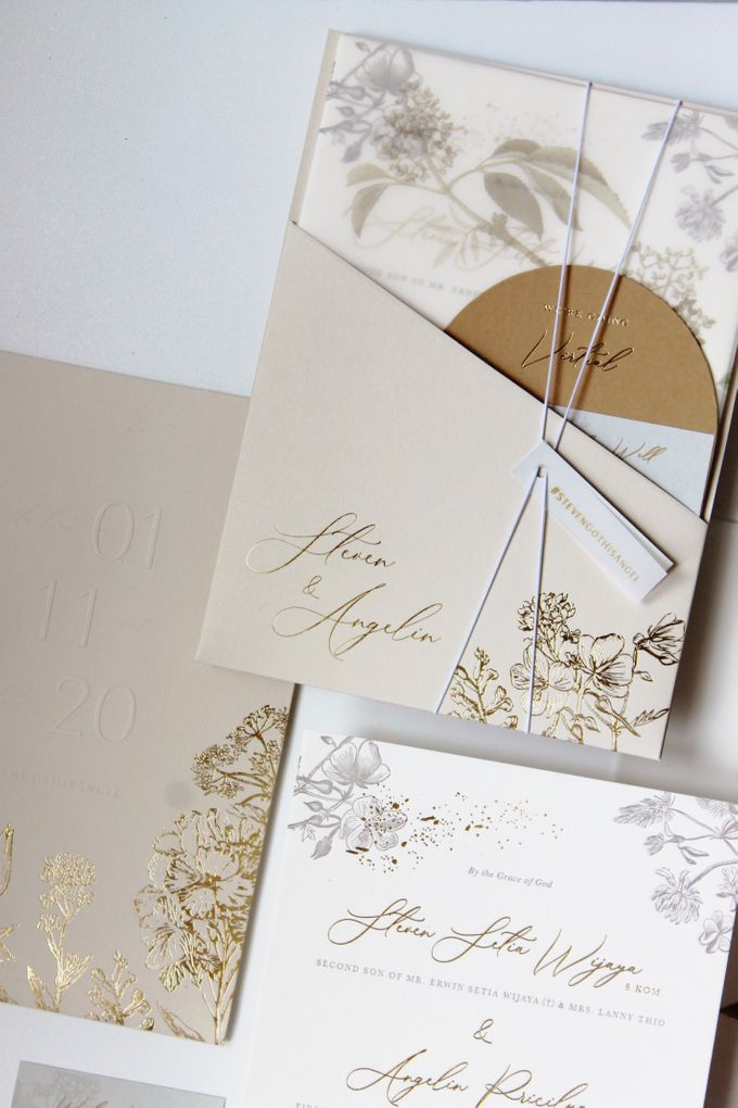 Steven & Angelin Invitation Suite by Sho Paper - 002