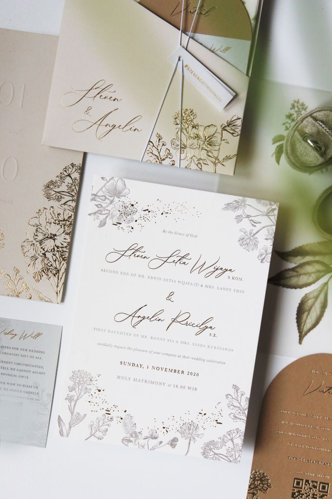 Steven & Angelin Invitation Suite by Sho Paper - 003