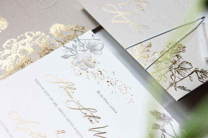 Steven & Angelin Invitation Suite by Sho Paper - 005