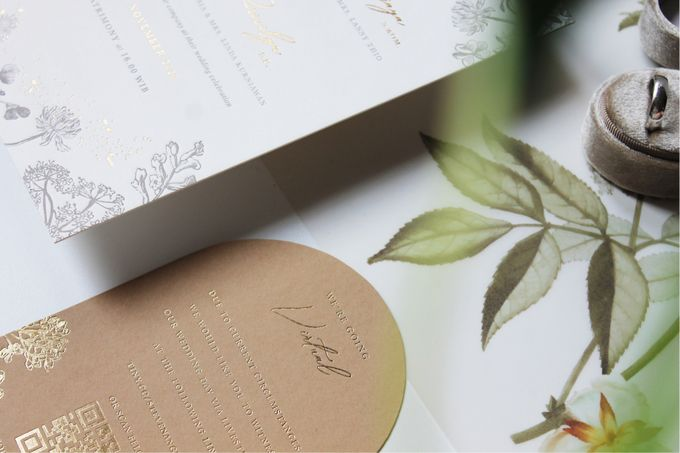 Steven & Angelin Invitation Suite by Sho Paper - 006