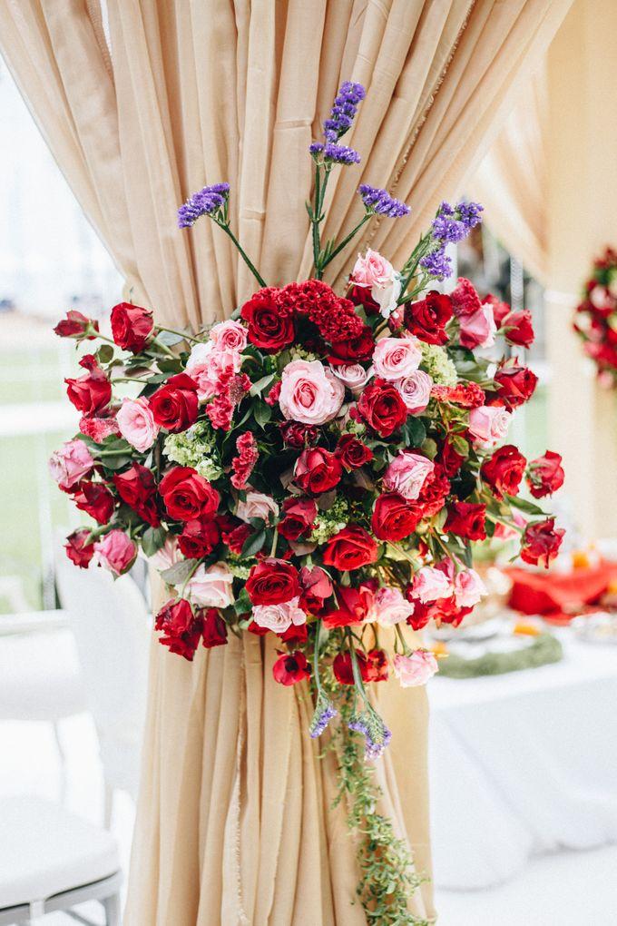 The Wedding of Priya & James by Red Gardenia - 001