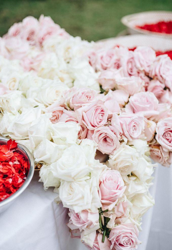 The Wedding of Priya & James by Red Gardenia - 002