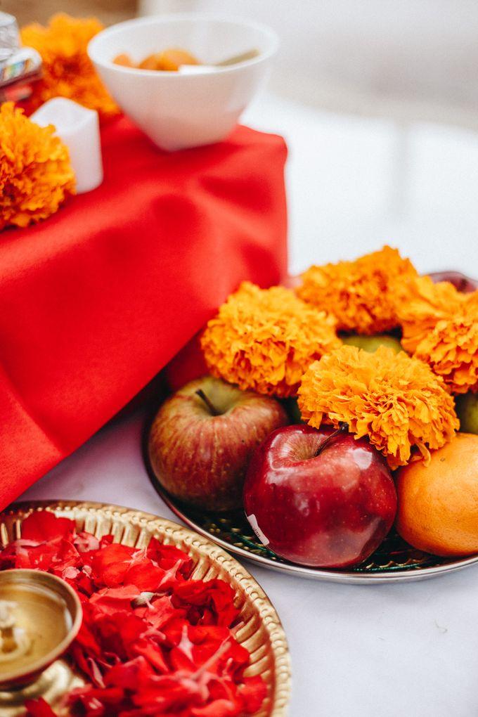 The Wedding of Priya & James by Red Gardenia - 005