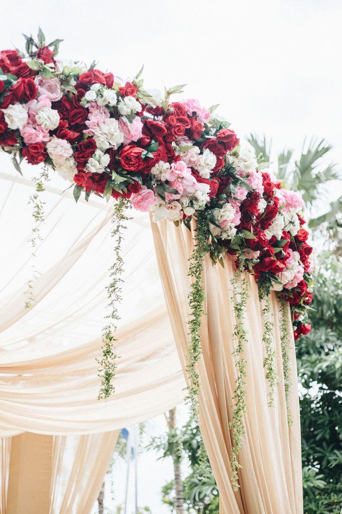 The Wedding of Priya & James by Red Gardenia - 011