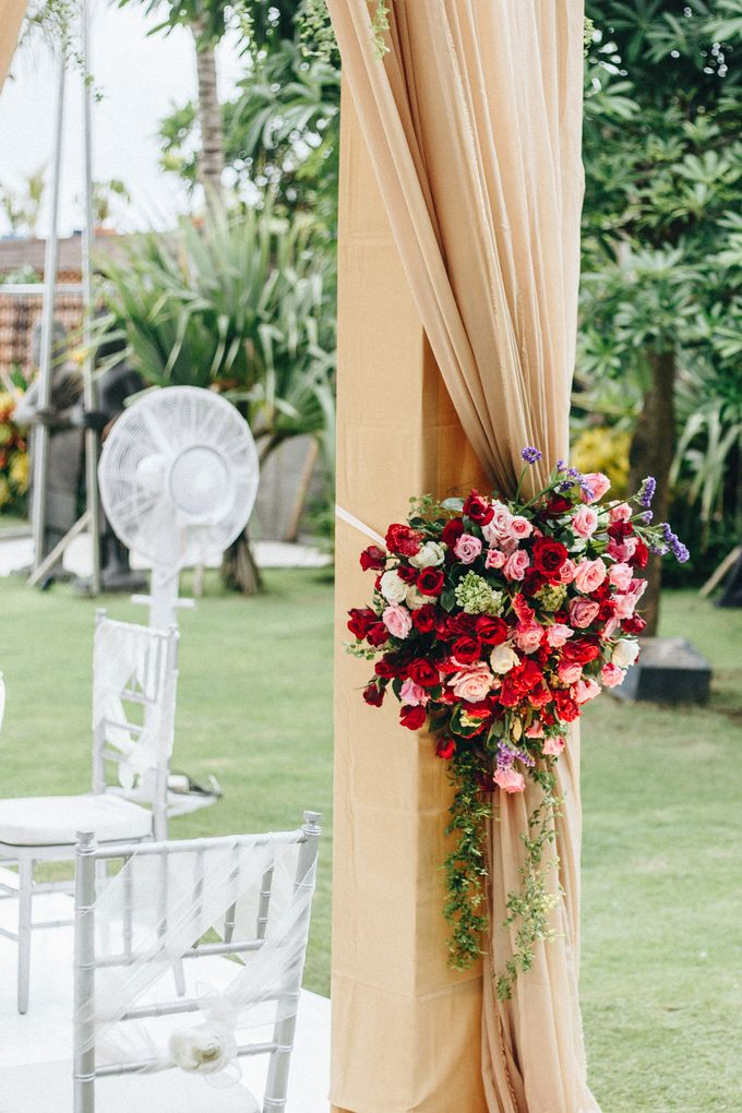 The Wedding of Priya & James by Red Gardenia - 010