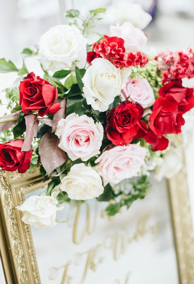 The Wedding of Priya & James by Red Gardenia - 014