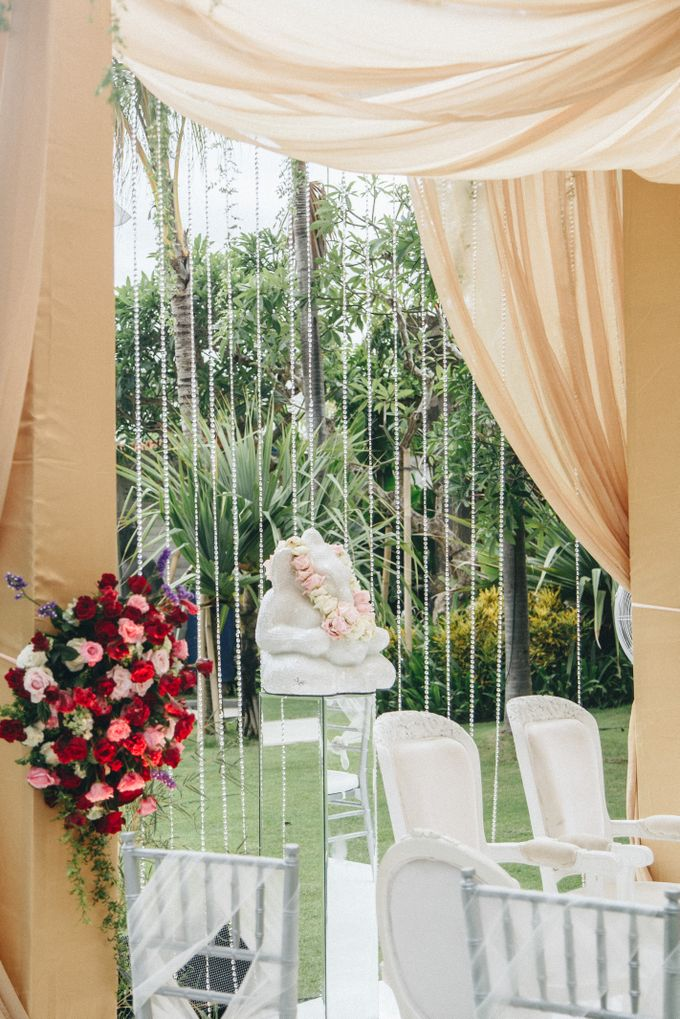 The Wedding of Priya & James by Red Gardenia - 015