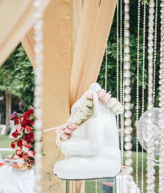 The Wedding of Priya & James by Red Gardenia - 019
