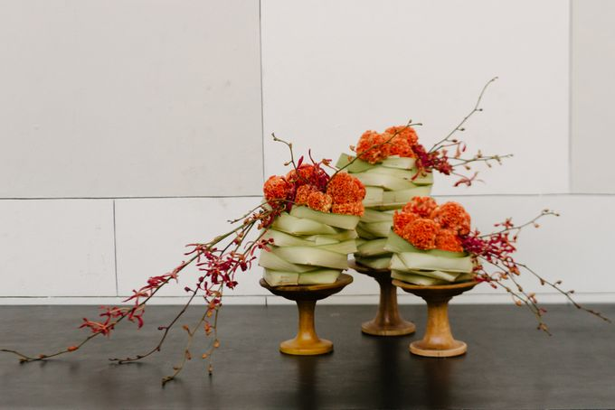 Balinese Floral Centrepieces by Make A Scene! Bali - 019