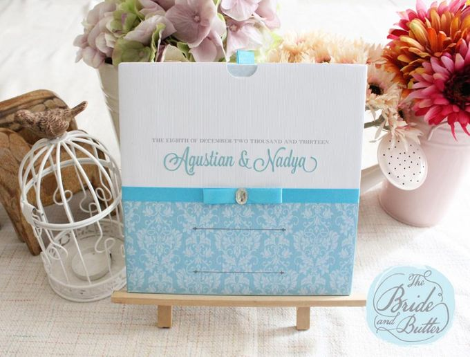 INVITATION  -  Agustian & Nadya by The Bride and Butter - 001