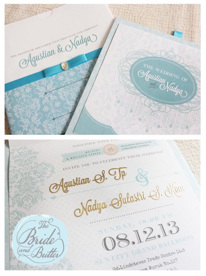 INVITATION  -  Agustian & Nadya by The Bride and Butter - 002