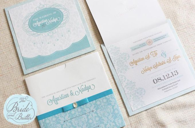 INVITATION  -  Agustian & Nadya by The Bride and Butter - 003