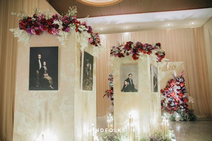 Foyer Decoration Inspiration for New Normal Wedding by Skenoo Hall Emporium Pluit by IKK Wedding - 005