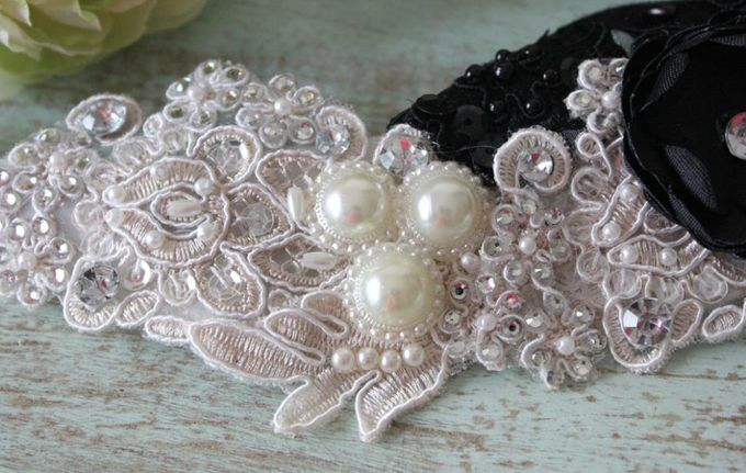 Custom Hairpiece by The Bride and Butter - 002