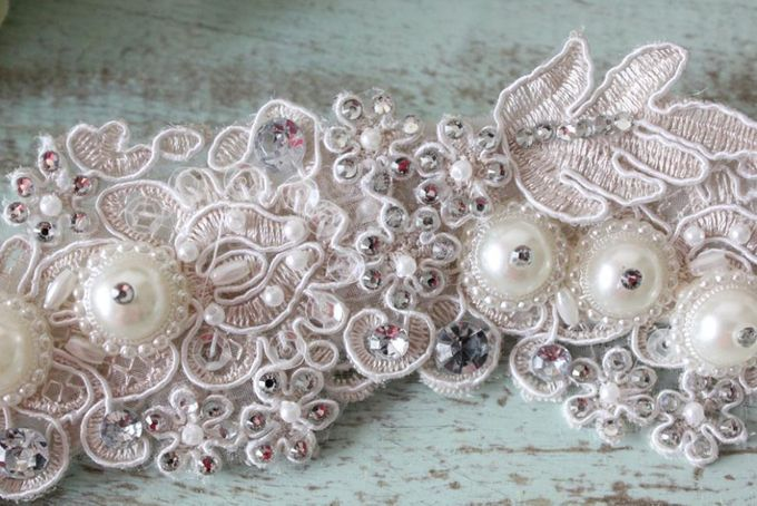 Custom Hairpiece by The Bride and Butter - 004