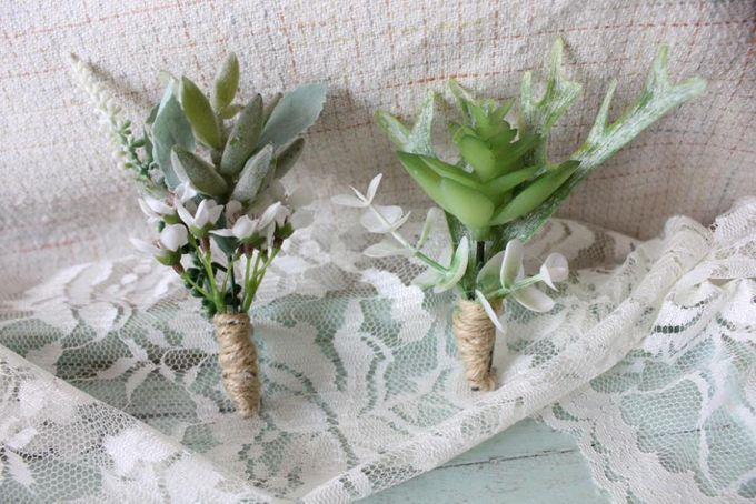 Custom Boutonniere / Corsage by The Bride and Butter - 004