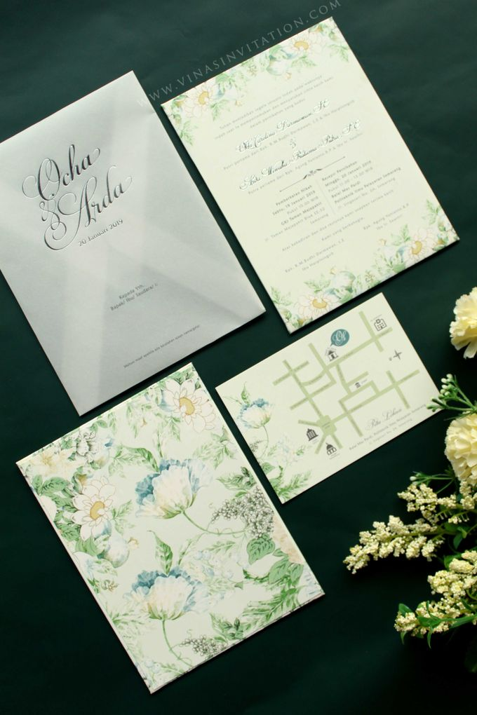 Ocha & Ardha by Vinas Invitation - 001