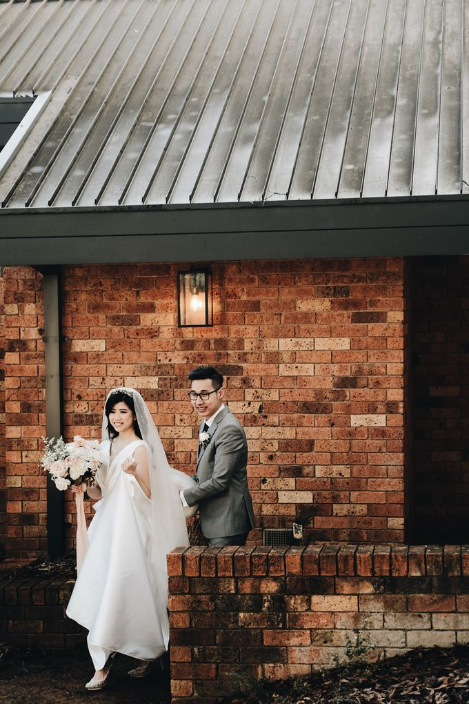 Wedding Day by Dicky - Kevin Kezia by Stones of the Yarra Valley - 002