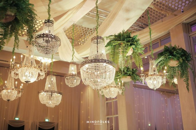 ZIA & DWI - WEDDING RECEPTION by Amarillis Floral and Party Decorator - 017
