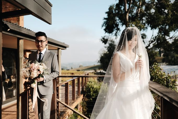 Wedding Day by Dicky - Kevin Kezia by Stones of the Yarra Valley - 007