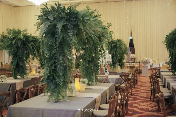 ZIA & DWI - WEDDING RECEPTION by Amarillis Floral and Party Decorator - 018
