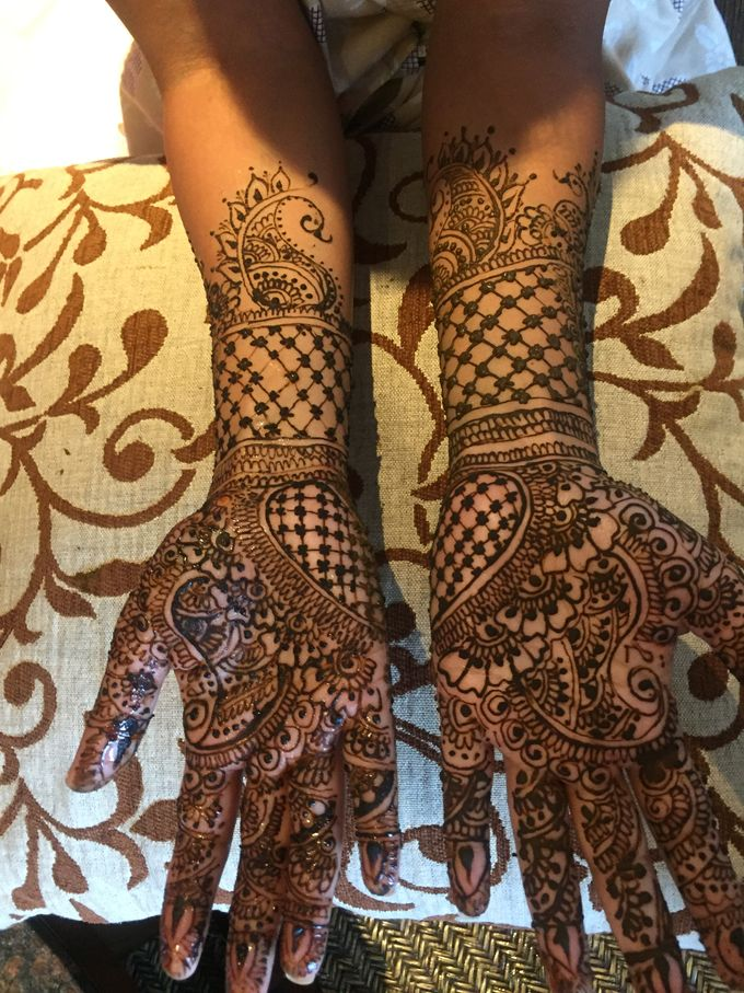 Henna for Indian Wedding by Nirvana Henna by Shinta - 005