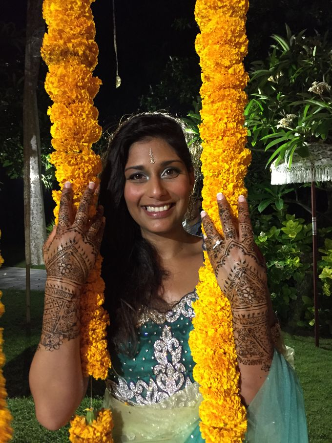 Henna for Indian Wedding by Nirvana Henna by Shinta - 004